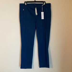"Level 99 navy ""Francis"" straight leg pants"